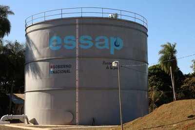 Essap habilita reservorio para mejorar servicio de agua potable a usuarios de Villarrica