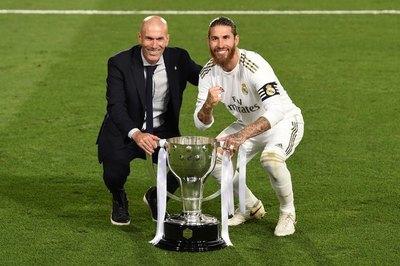 Los hombres claves del título 34 del Real Madrid