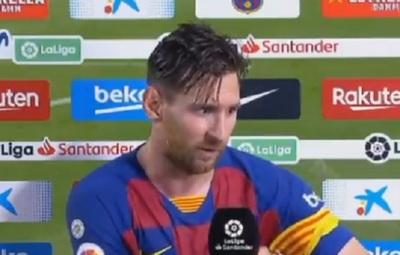 """Messi """"destroza"""" a su equipo tras perder el campeonato"""