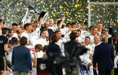 ¡Real Madrid campeón de la Liga Española!