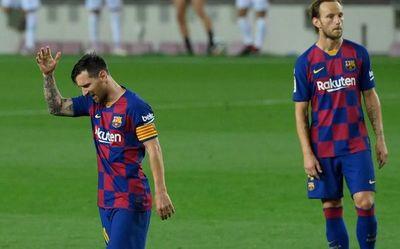 Leo Messi estalló tras la derrota del Barça y el título del Real Madrid