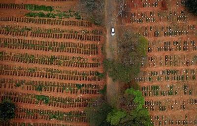 Brasil superó los dos millones de casos confirmados de Covid-19