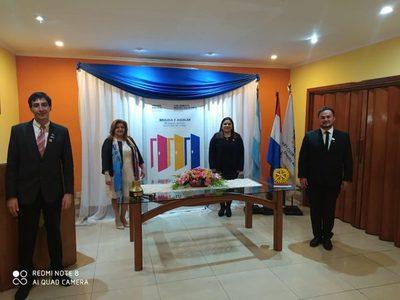 Rotary Club de San Lorenzo y su transmisión de mando de nuevas autoridades