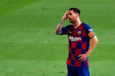 """Messi autocrítico: """"Fuimos un equipo débil e irregular"""""""