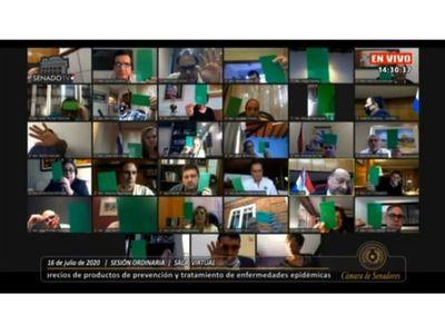 Senado advierte a Abdo y Mazzoleni que la impunidad  los hará naufragar