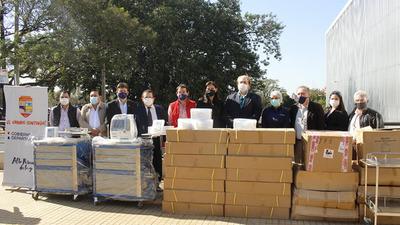 En menos de una semana, Gobernación invierte  más de G. 400 millones en insumos médicos – Diario TNPRESS