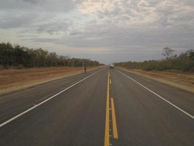 Habilitan hoy nuevo tramo terminado de la Ruta Bioceánica