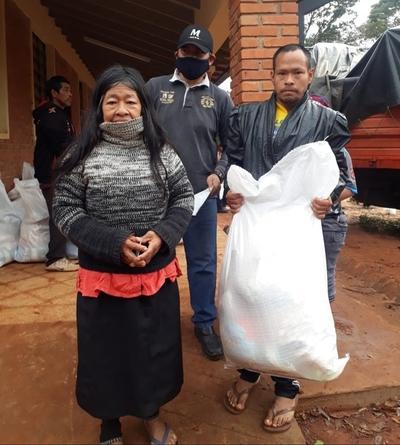 Realizan cuarta fase de asistencia alimentaria a comunidades indígenas