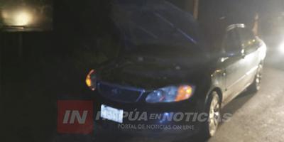 ENCARNACENO CIRCULABA CON AUTOMÓVIL ROBADO EN BRASIL
