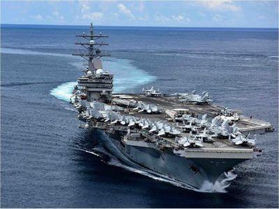 EEUU despliega portaaviones en el mar de China Meridional