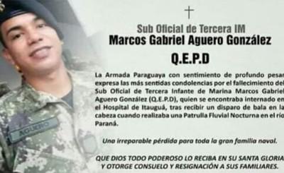 Militar herido en enfrentamiento murió en la noche de ayer
