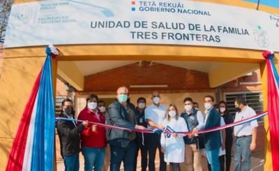 Habilitan remodelaciones de Unidades de Salud de Alto Paraná