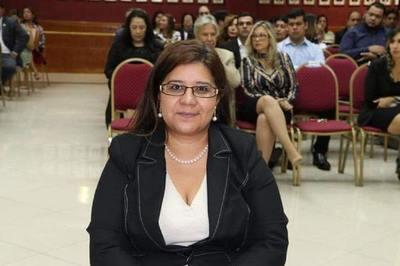 Calle llevará el nombre de la jueza Diana Mereles