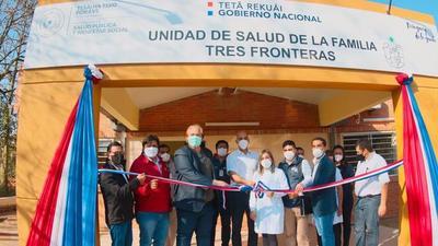 Habilitan mejoras de Unidades de Salud de Alto Paraná