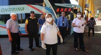 Confirman un caso positivo en Terminal de Ómnibus de Asunción