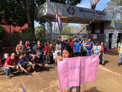 Tiroteo CDE: Familiares se manifiestan para pedir liberación de detenidos