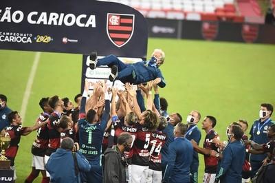 Flamengo se despide de Jorge Jesús