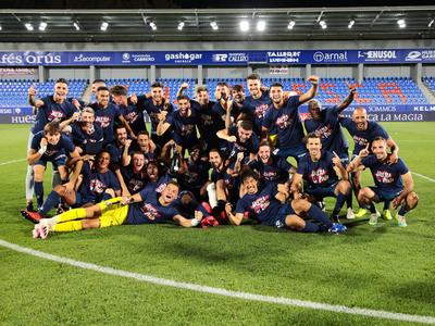 El Huesca regresa a la elite al primer intento