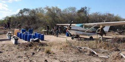 425 kg de cocaína incautó la Senad en Alto Paraguay