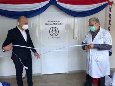 Habilitan nuevo laboratorio de biología molecular para el INERAM
