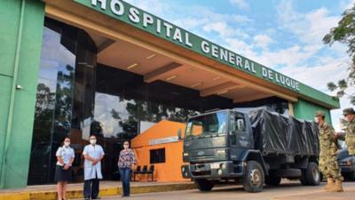 Dan negativo al COVID-19 los 60 funcionarios del Hospital de Luque