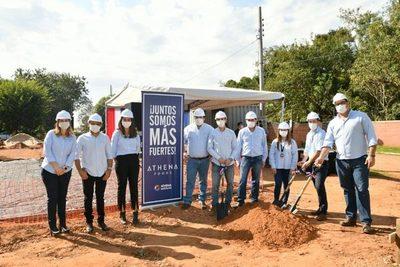 Inician la construcción del pabellón de contingencia en el Hospital de Belén