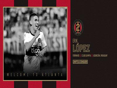 Atlanta United anuncia la llegada de Erik López