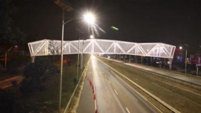 HOY / Construyen puente peatonal que unirá el Comité Olímpico y el Ñu Guasú