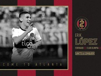 Atlanta presenta a Erik López