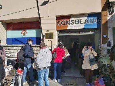 Hasta la fecha cerca de 3.000 connacionales retornaron de Argentina
