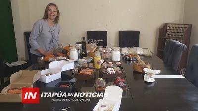 LA EMPRENDEDORA QUE FABRICA JABONES ARTESANALES HASTA CON YERBA MATE