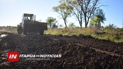 INTERVENCIÓN DE CAMINOS VECINALES EN SAN JUAN DEL PNÁ.