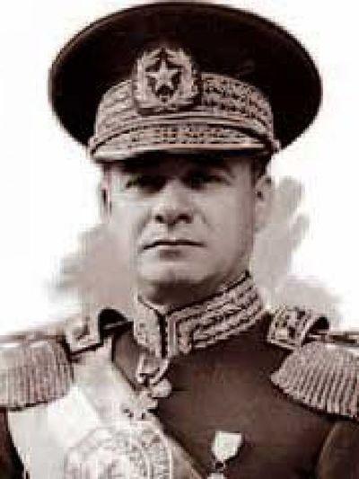 Audio del Mcal. José Félix Estigarribia en Uruguay en el año 1.936.