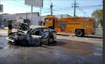 Impactante accidente vial sobre San Martín