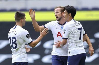 Doblete de Kane frente al Leicester