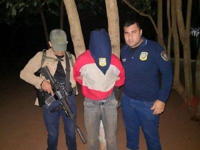 Capturan a implicado en secuestro de colono brasileño
