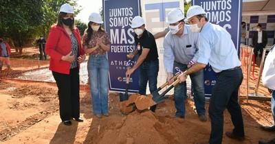 Athena Foods realiza la construcción del pabellón de contingencia en el Hospital de Belén