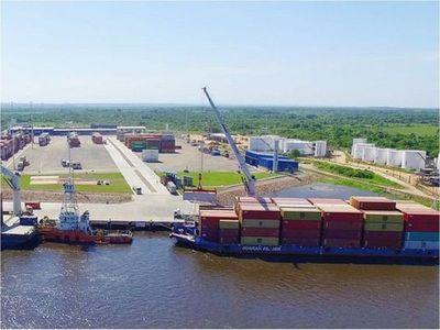 Fumigación en terminal portuaria tras caso positivo de Covid-19
