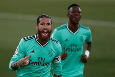Sergio Ramos alcanza su gol número 100 a nivel de clubes