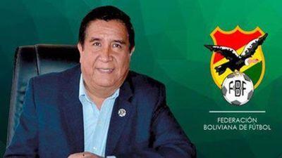 Presidente de Federación Boliviana de Fútbol fallece por COVID-19
