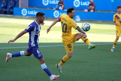 Messi cierra su séptima temporada como pichichi de la Liga