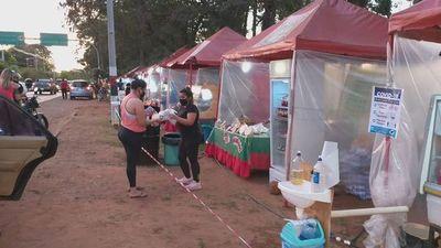 Moderada concurrencia en feria de frutilla en Areguá