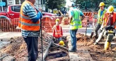 MOPC: cerrarán calles céntricas para cambios de tuberías