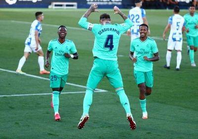 Real Madrid empata último partido de la Liga, pero envía al Leganés a la segunda división