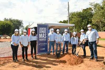 Athena inicia construcción del pabellón de contingencia en el Hospital de Belén