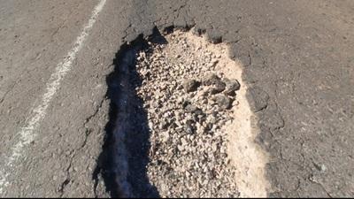 Más de 150 baches peligrosos en ruta PY05 en Concepción