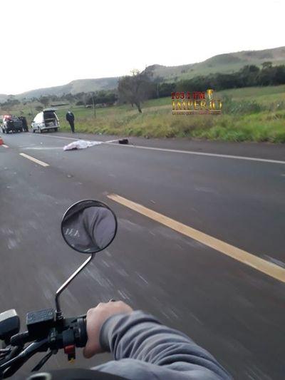 Accidente de tránsito con derivación fatal en la ruta V