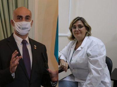 Mazzoleni contesta a Russomando y respalda al Laboratorio Central