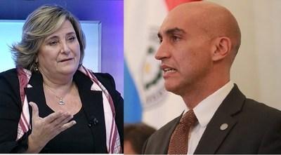 Acusaciones mutuas por falta de ética entre Mazzoleni y Russomando