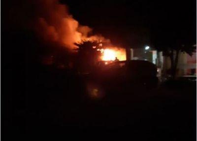 Ardió una vivienda en Villa Guillermina